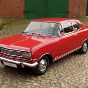 Opel Olympia Rekord Coupe 1966