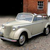 Opel Olympia Cabriolet 1938